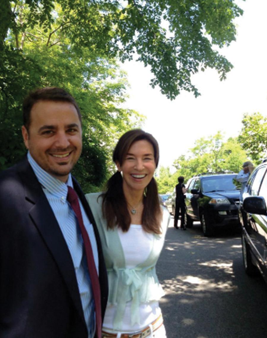 Lisa Price and Aaron Buffardi