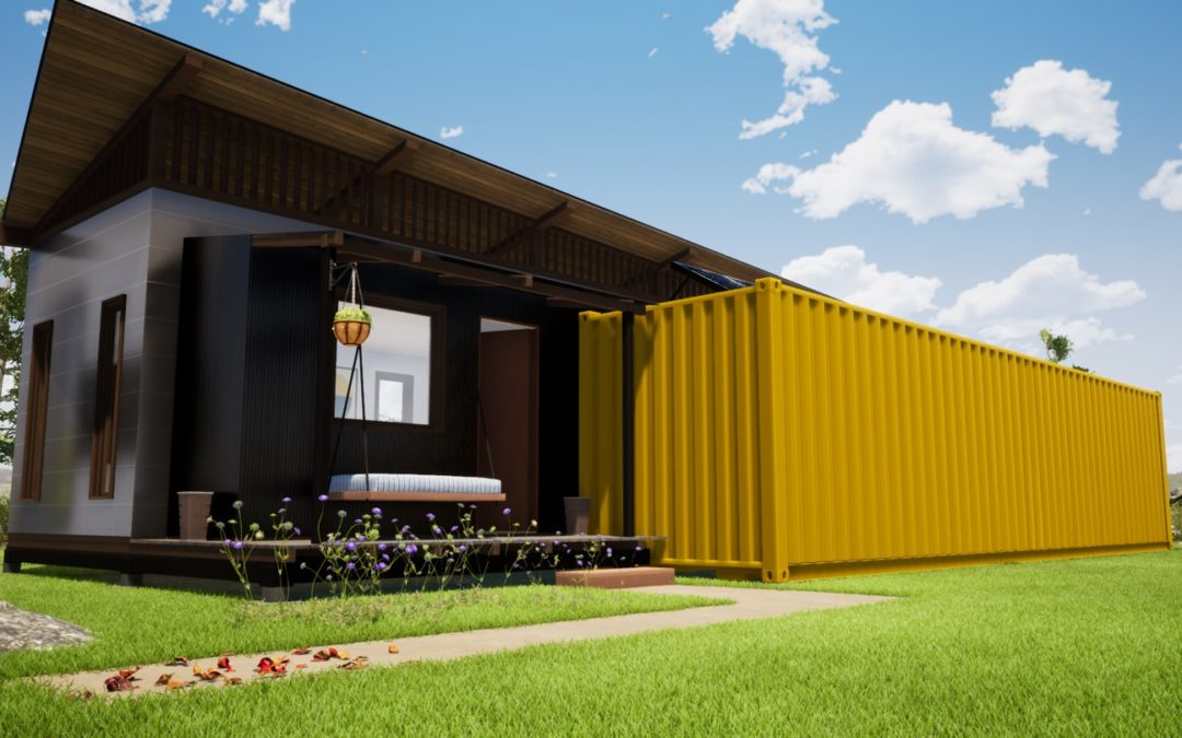 DIY Flat-Pack Affordable Housing with the Global Housing Foundation in Abu Dhabi – Concept